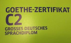 Examination Goethe Zertifikat C2 Gds On September 7 2018 Fully